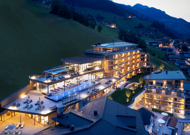 Das Edelweiss Mountain Resort Grossarl Aussenansicht