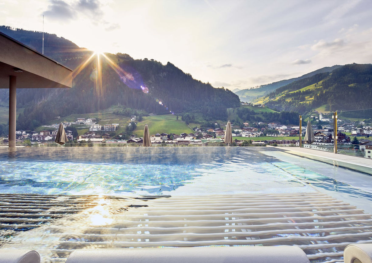 Das Edelweiss Mountain Resort Grossarl Pool