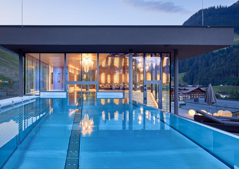 Das Edelweiss Salzburg Mountain Resort Hotel Großarl Aussenansicht