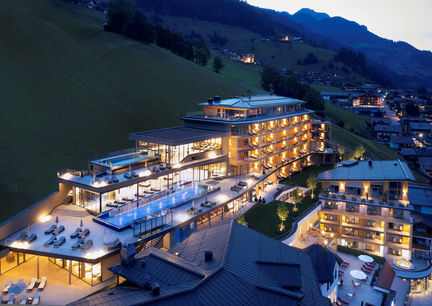 Das Edelweiss Salzburg Mountain Resort Hotel Großarl Infinity Pool