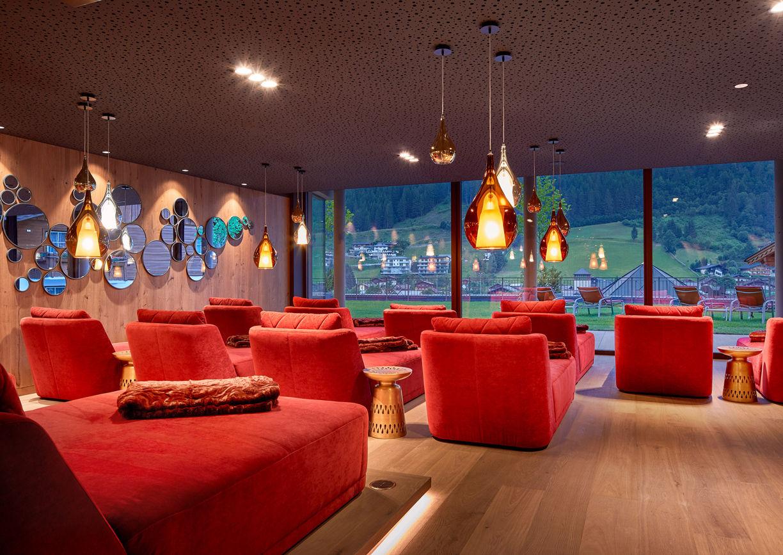 Das Edelweiss Salzburg Mountain Resort Hotel Großarl Ruheraum
