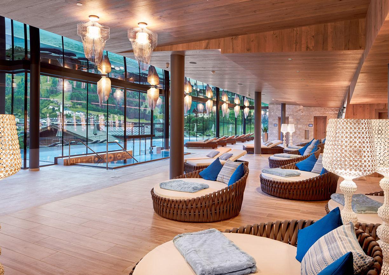 Das Edelweiss Salzburg Mountain Resort Hotel Großarl Ruheraum Pool