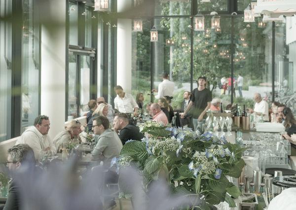 Das Glashaus Wien Innenansicht