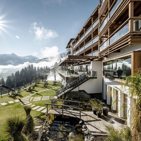 Das Goldberg Hotel Bad Hofgastein Salzburger Land Aussenansicht