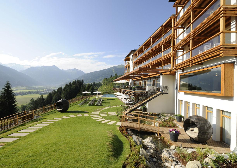 Das Goldberg Hotel Salzburger Land Gasteinertal Aussenansicht