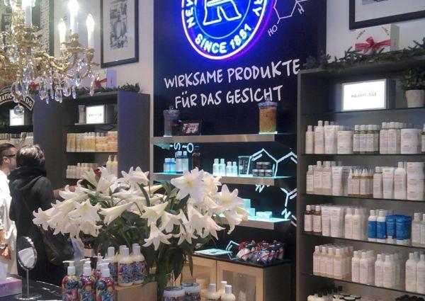 Der neue Kiehl´s Shop in Innsbruck