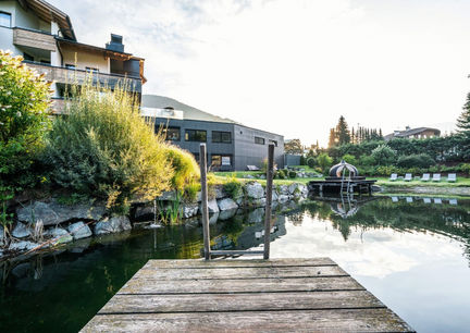 Dolomiten Residenz Sporthotel Sillian Osttirol Natur Teich