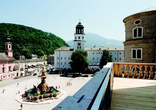 Domquartier, Salzburg, Eröffnung