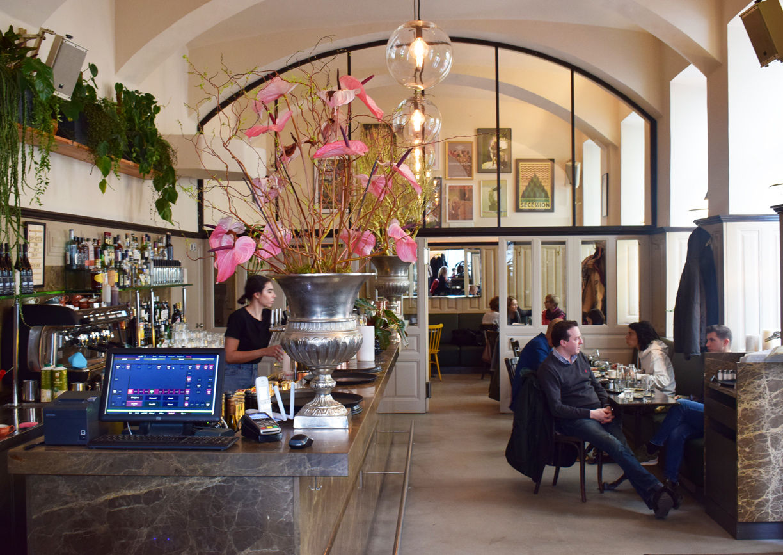 Drechsler Wien Innenansicht Bar