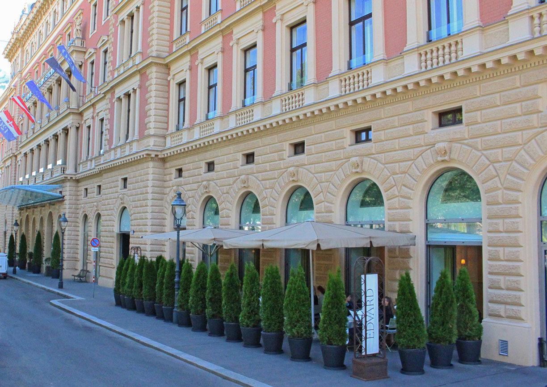 Edvard Palais Kempinski Restaurant Wien Schanigarten