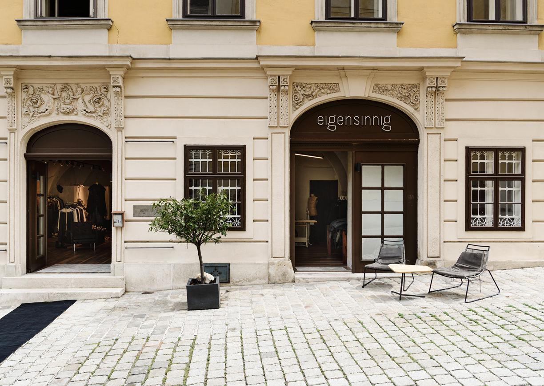 eigensinnig Conceptstore Wien Aussenansicht