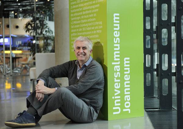 Einer der Player in Österreichs Museumslandschaft: Peter Pakesch
