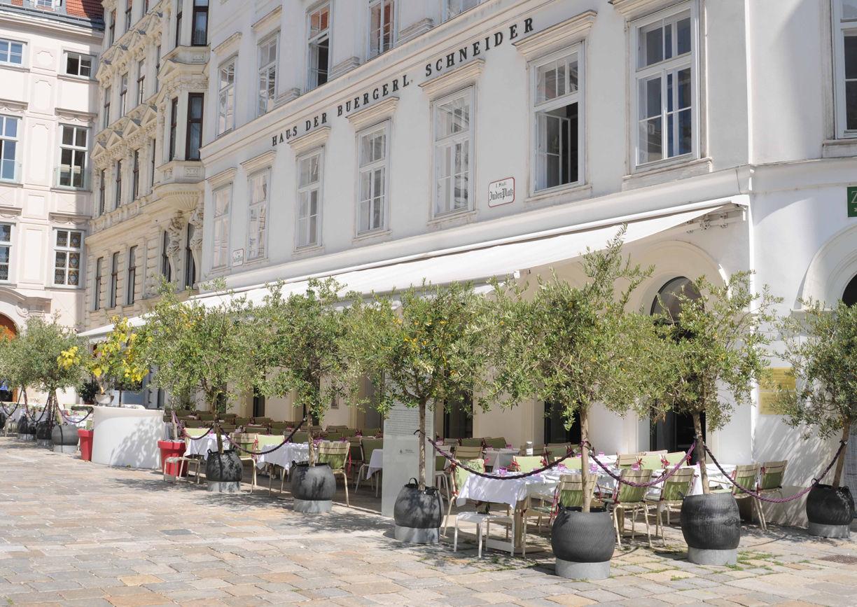Ellas Restaurant Wien Schanigarten