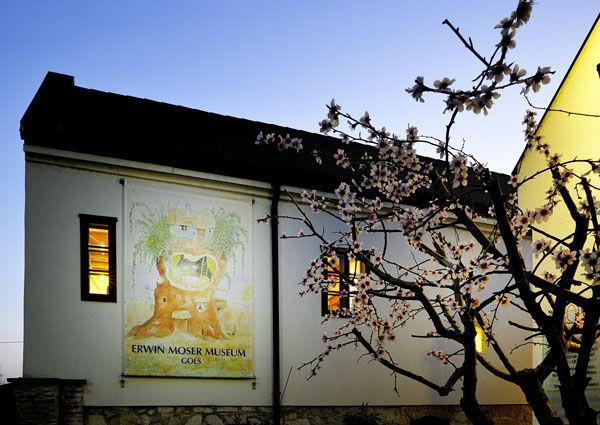 Erwin Moser, Museum, Gols, Weinkulturhaus, Burgenland, Kinderbuchautor,