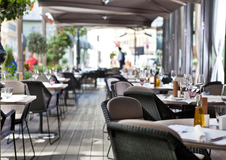 Fabios Terrasse Tuchlauben Restaurant Wien