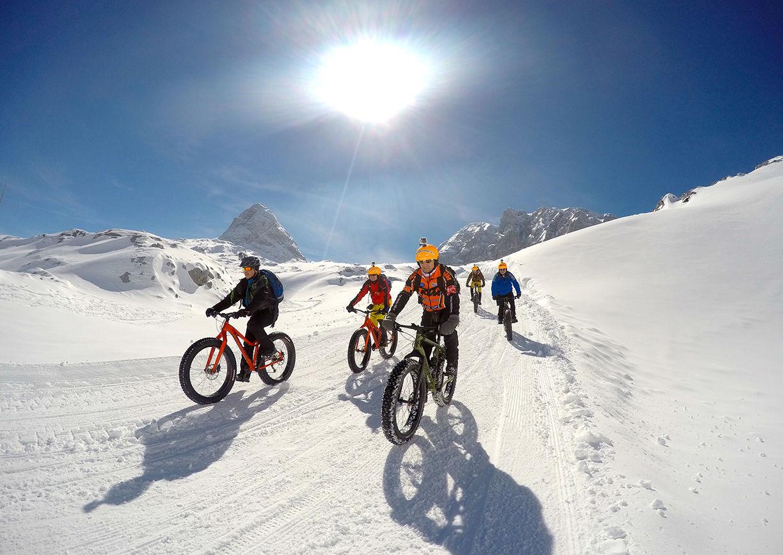 Fatbike Mountainbike Ramsau Tiefschnee Freeride