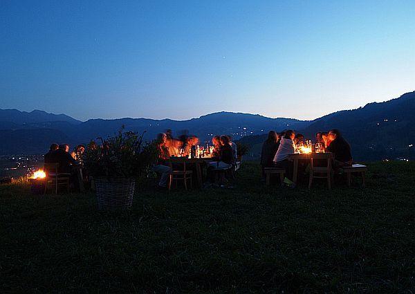 Feldküche im Bregenzerwald