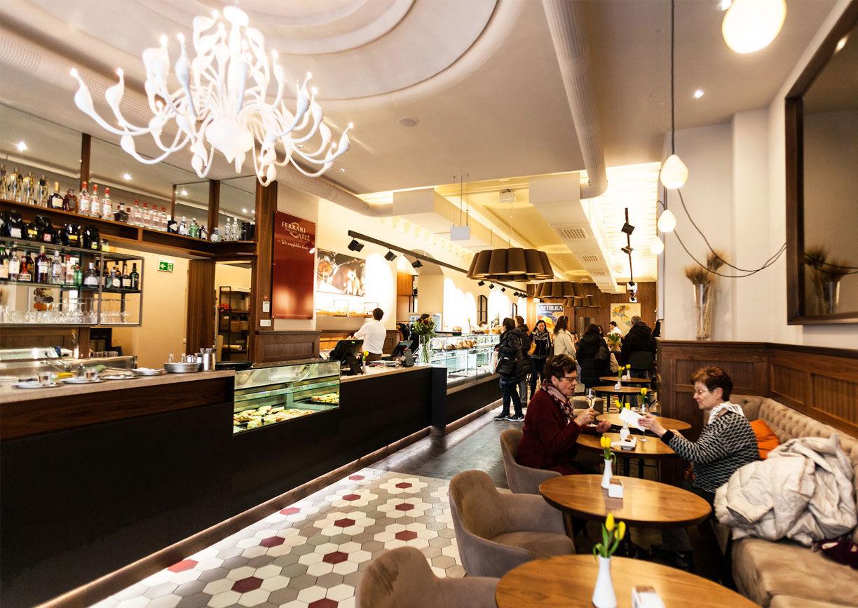 Ferrari Caffe Wien Interieur