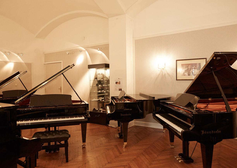 Flügel, Bösendorfer, Klaviere, Schauraum
