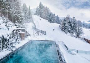 Forsthofgut Hotel Spa Pool Leogang Skipiste