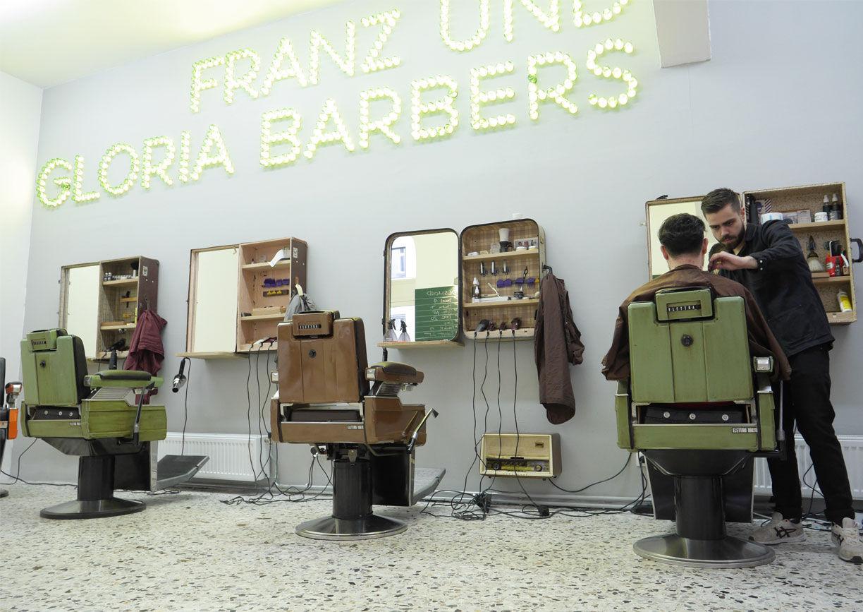 Franz und Gloria Barbershop Wien