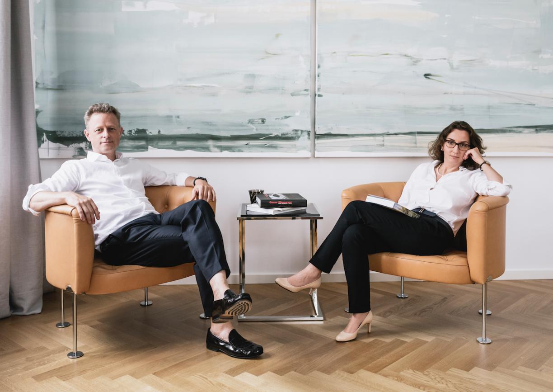 Gabriel Kacerovsky und Carmen Dumitrescu, die Geschäftsführer von Archisphere