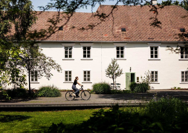 Gästehaus Oberjäger Schloss Lackenbach Burgenland Aussenansicht