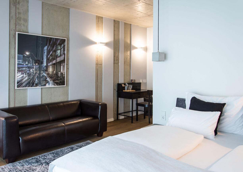 Gapsite Hotel Graz Zimmer