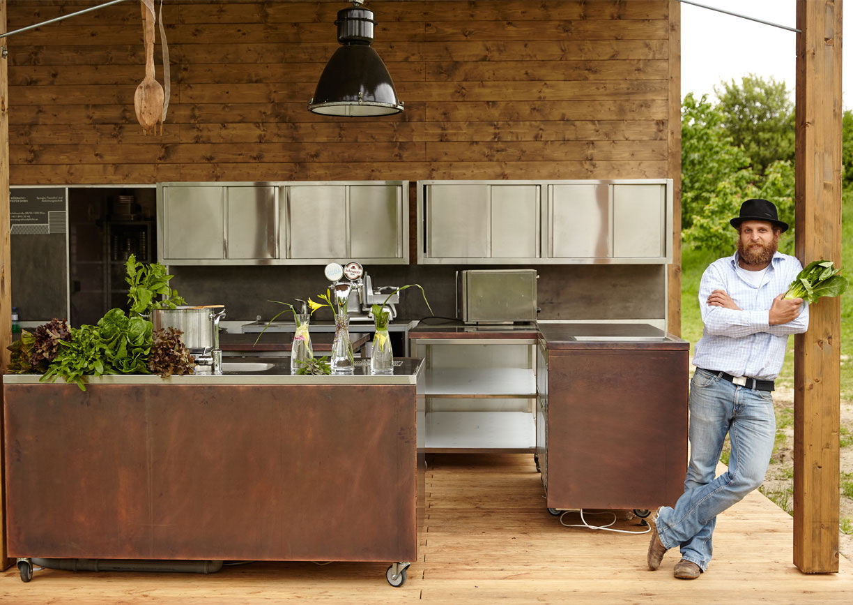 Gartenküche Arche Noah
