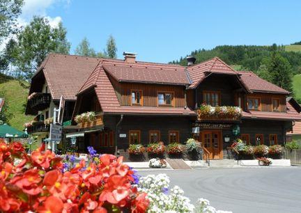 Gasthof Grabenbauer Almenland Steiermark Aussenansicht
