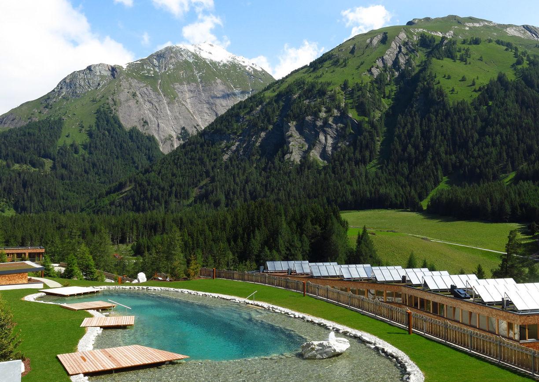 Gradonna Mountain Resort Hotel Kals Osttirol Badesee