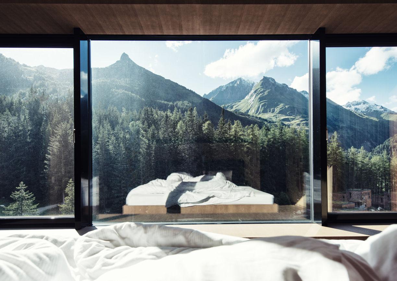 Gradonna Mountain Resort Hotel Kals Osttirol Bett