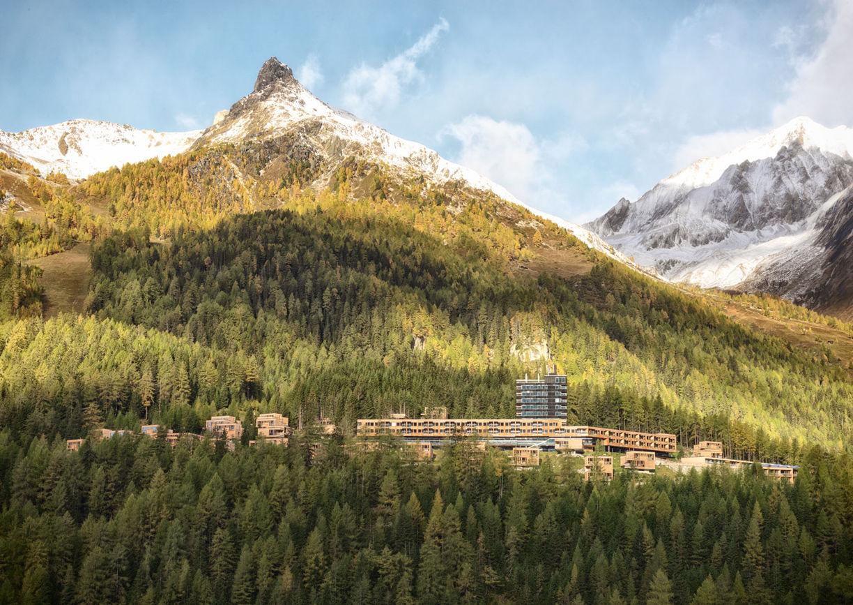 Gradonna Mountain Resort Hotel Osttirol Kals Aussenansicht