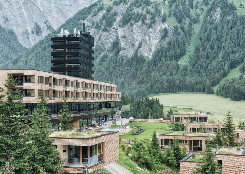 Gradonna Mountain Resort Kals Osttirol Aussenansicht