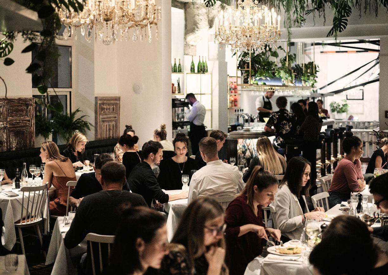 Grand Hotel Wiesler Graz Restaurant Bar Salon Marie Innenansicht