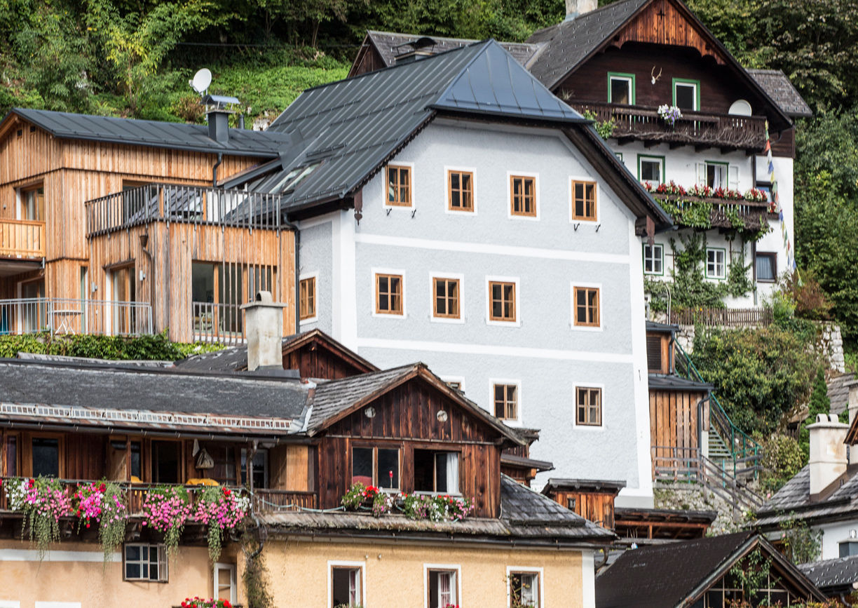Hallstatt Hideaway Private Suites Salzkammergut Aussenansicht