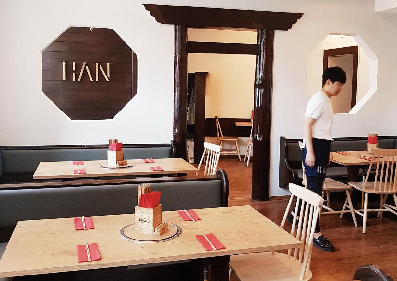 Han am Stadtpark koreanisches Restaurant Wien Innenansicht