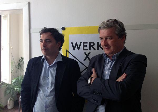 Harald Posch und Ali M. Abdullah leiten des neue Werk X.