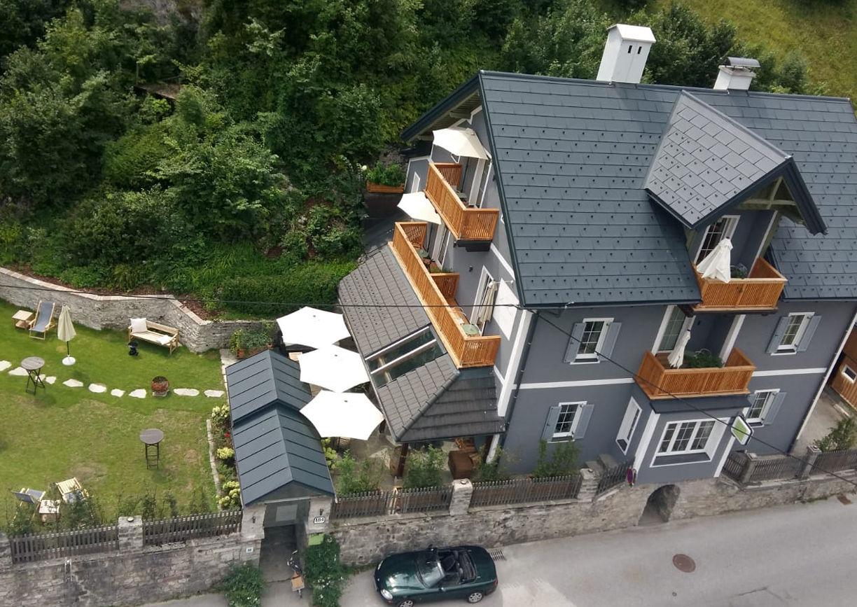 Haus Anna Plochl Hotel Bad Aussee Steiermark Salzkammergut Aussenansicht Garten