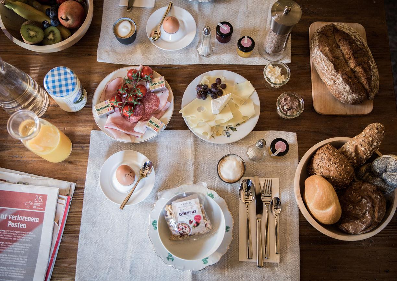 Haus Anna Plochl Hotel Bad Aussee Steiermark Salzkammergut Frühstück Essen