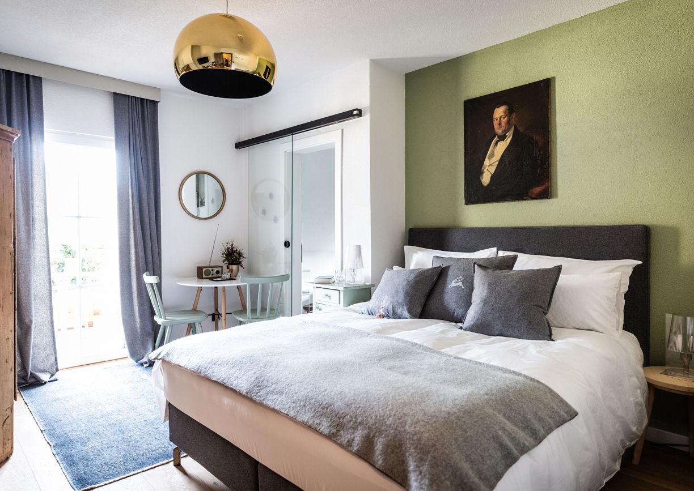 Haus Anna Plochl Hotel Bad Aussee Steiermark Salzkammergut Zimmer Innenansicht