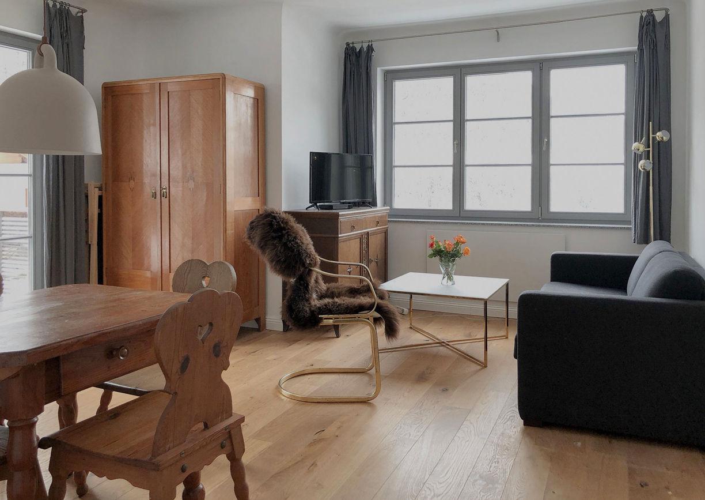 Haus August Apartments Bad Gastein Zimmer Innenansicht