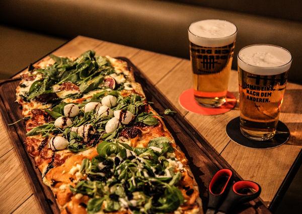 Hefenbrüder Wien Restaurant Lokal Pizza Bier