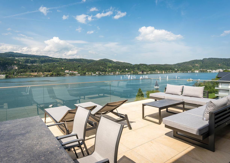 Hermitage Vital Resort Hotel Wörthersee Kärnten Apartment Aussicht