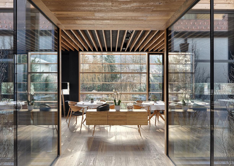 Hisa Denk Restaurant Innenansicht