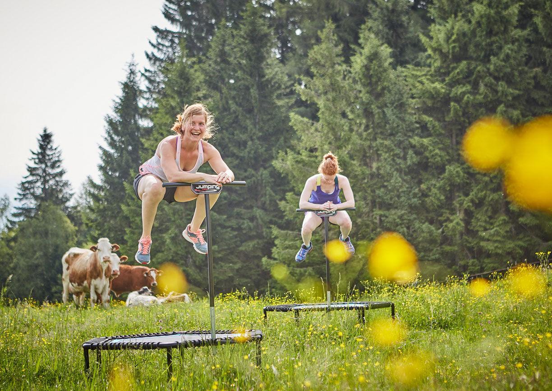 Holzhotel Forsthofalm Leogang Salzburger Land Natur Sport Sommer