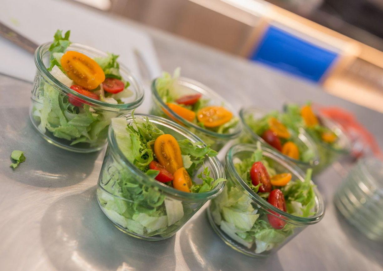 Hoobert Naturkola Salat im Glas