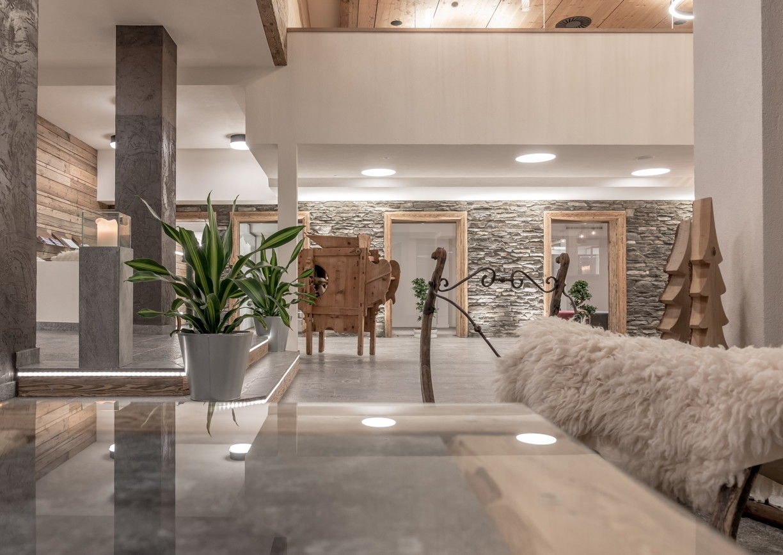 Hote Mühle Resort Adult Only Innenansicht Lobby