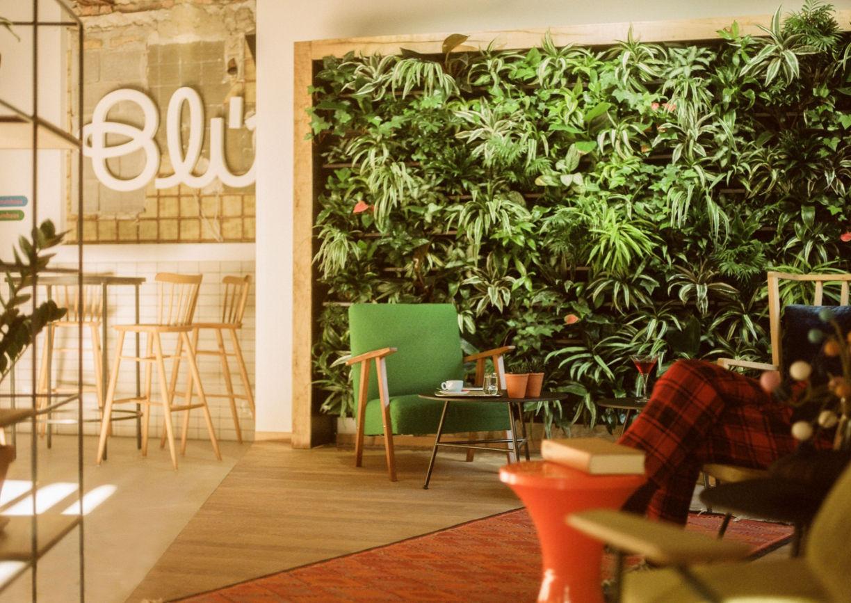 Hotel Blue Bad Gastein Salzburg Innenansicht Lobby