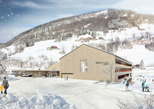 Hotel Die Wälderin Mellau Vorarlberg Aussenansicht